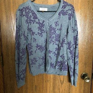 Sonoma Floral Patterned Button-Up Cardigan